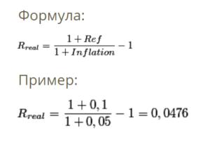 Считаем реальную доходность: формула и пример