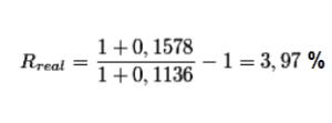 Проверяем по формуле реальную доходность
