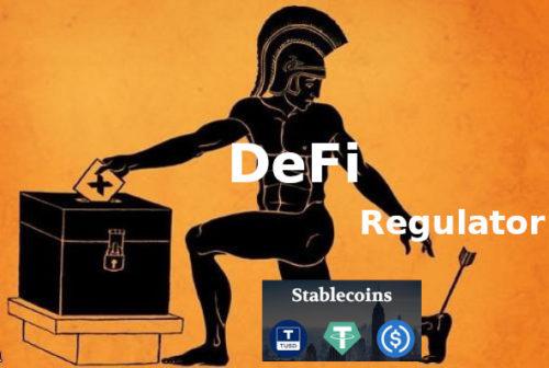 DeFi. стейблкоины и регуляторы - риски!